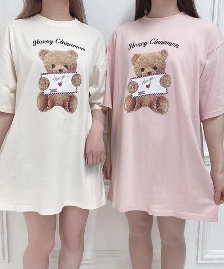 HC212CS0426<unisex> ラブレターシナモンTシャツ