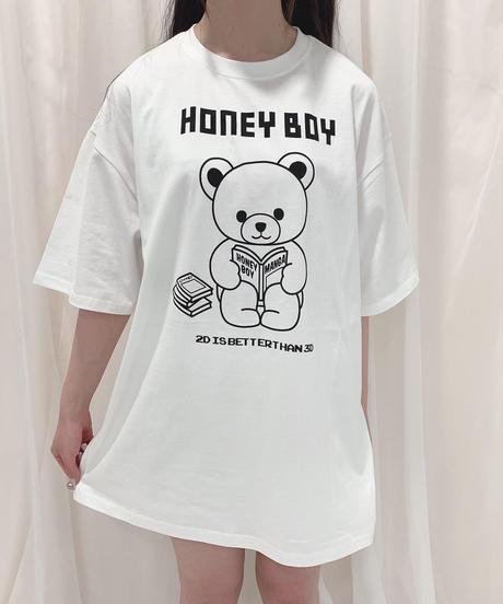 HC213CS0858<unisex> Home time シナモンTシャツ