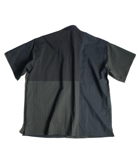 TYPE 04 Open collar short sleeve shirt