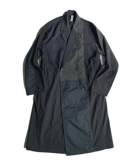 TYPE 01 Double balmacaan coat