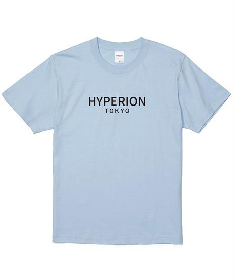 ベーシックロゴ Tシャツ パステルブルー