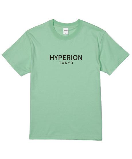 ベーシックロゴ Tシャツ パステルグリーン