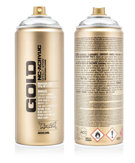Montana Gold 400ml Effect & Metallic