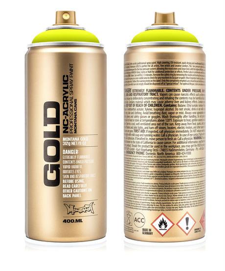 Montana Gold 400ml Fluorescent