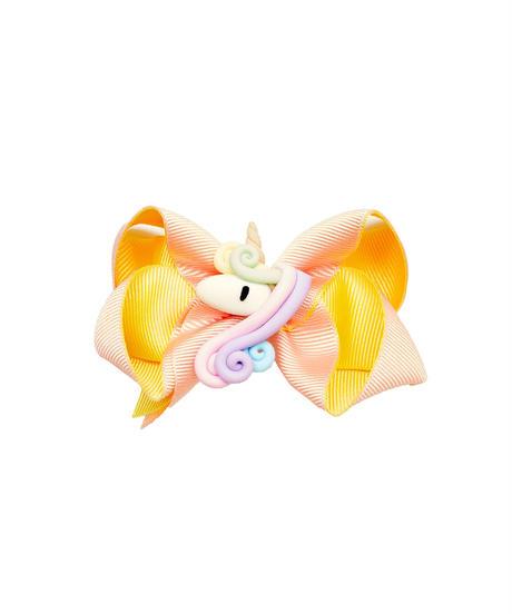 【PEACH UNICORNヘアアクセサリー】ピーチユニコーン〜可愛い子供用の リボン☆