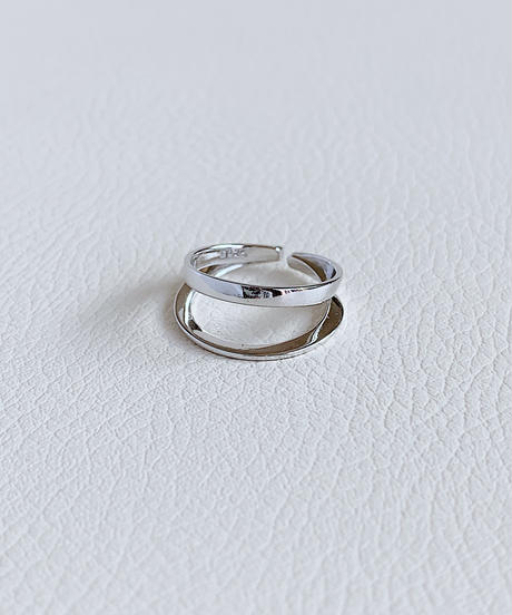 silver ring A105
