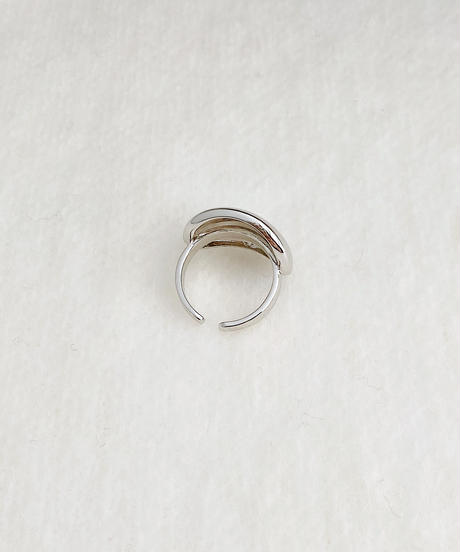 silver ring P105