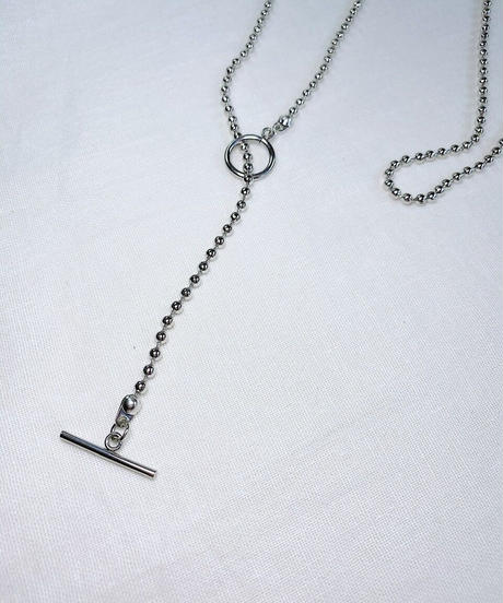 ball chain necklace K104