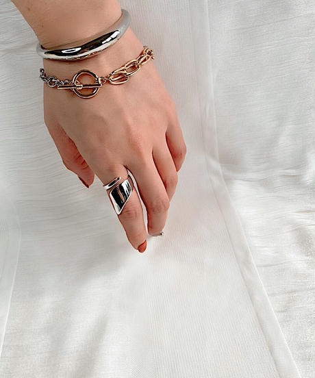 silver ring P103