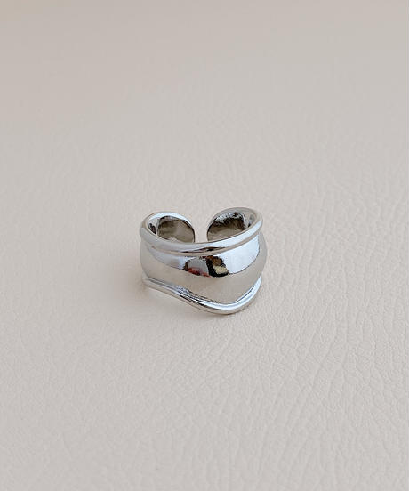 silver ring D101