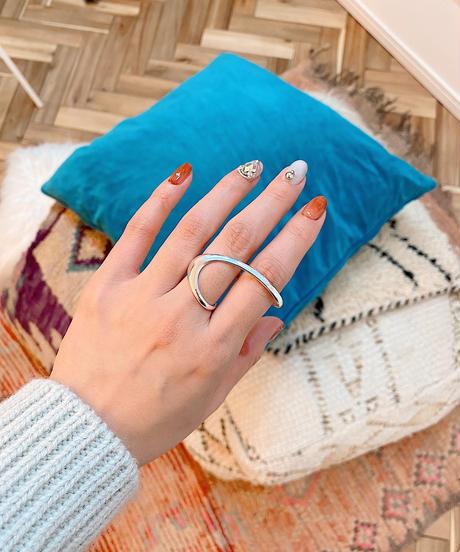 double finger ring P101