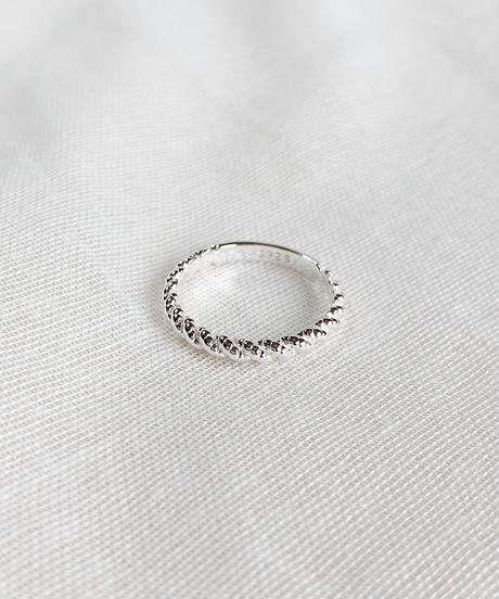 silver ring F104