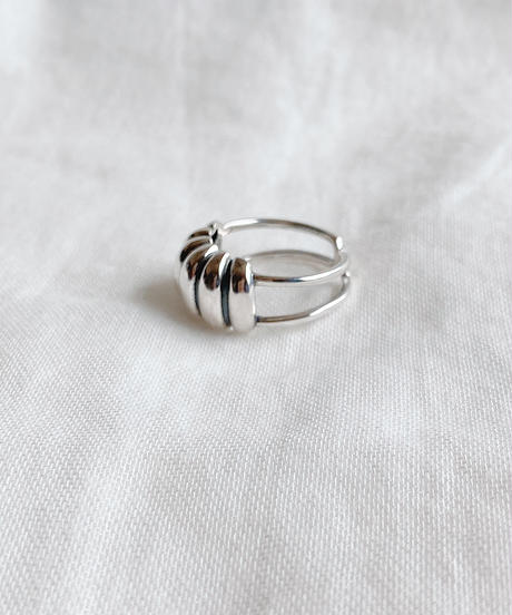 silver ring C208