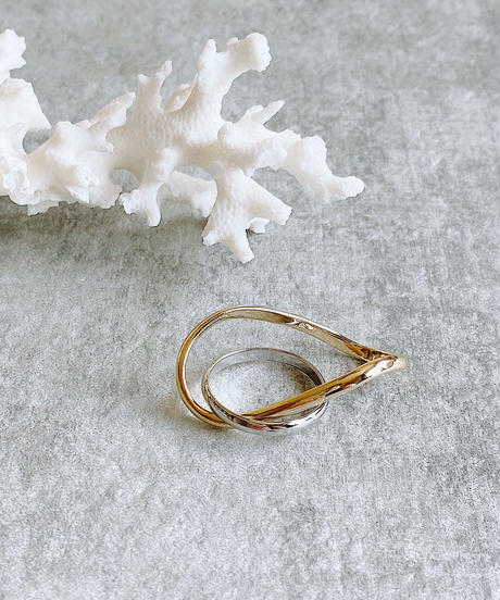layering nuance ring J204