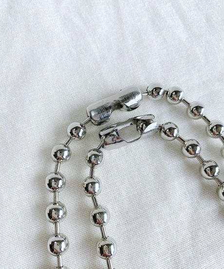 ball chain necklace H107