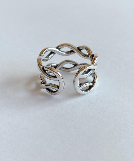 silver ring C207