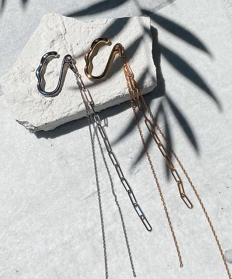 long chain  ear cuff H203