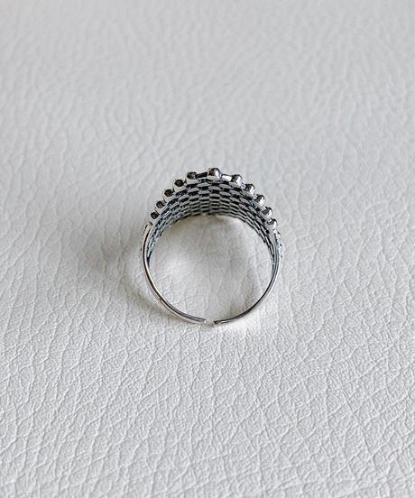 silver ring V-021