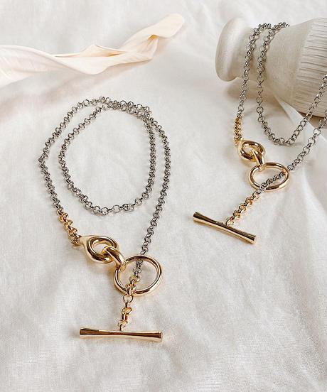 mix color chain necklace M116