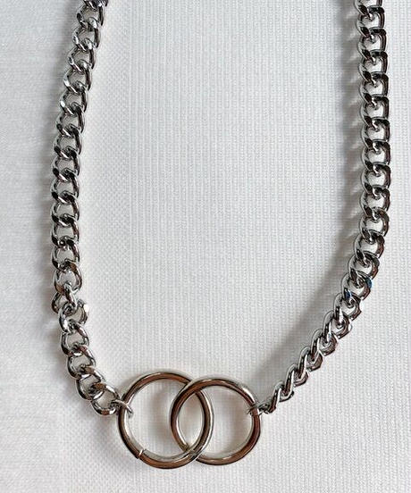 circle chain necklace P110