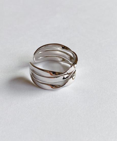 silver ring K205