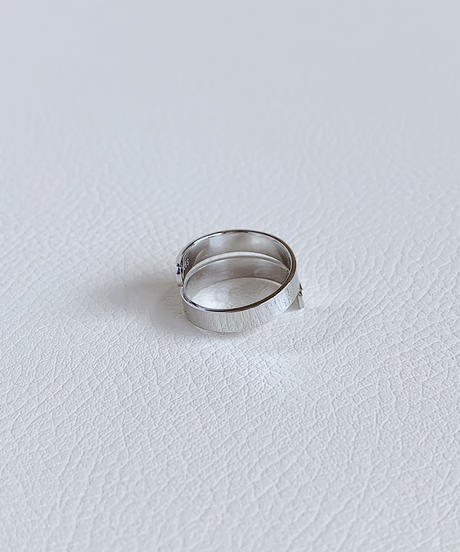 silver ring A106