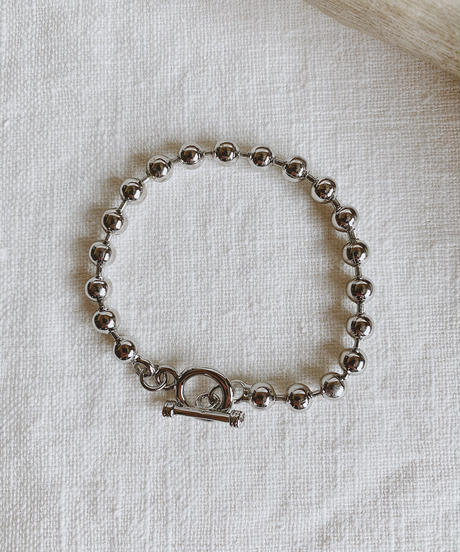 metal ball chain bracelet N-001