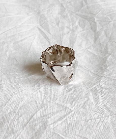silver ring K209
