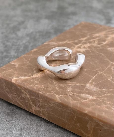 wavy line ring K202