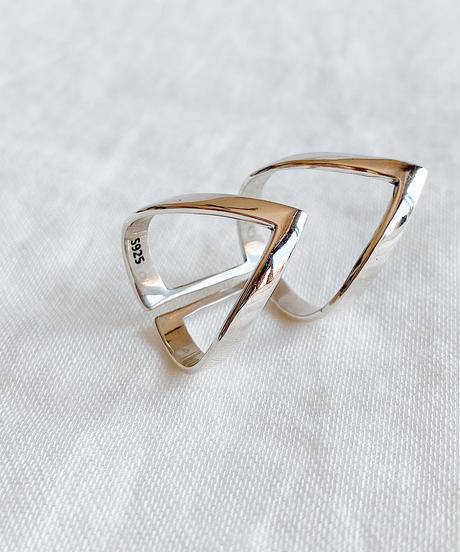 silver ring C205