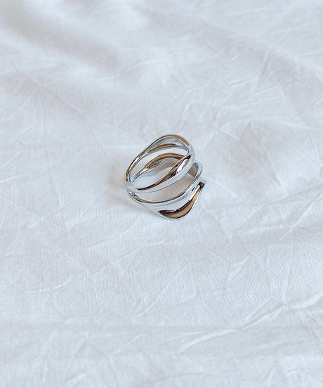 silver ring H216