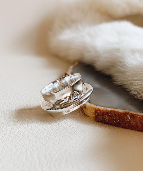 silver ring P-001