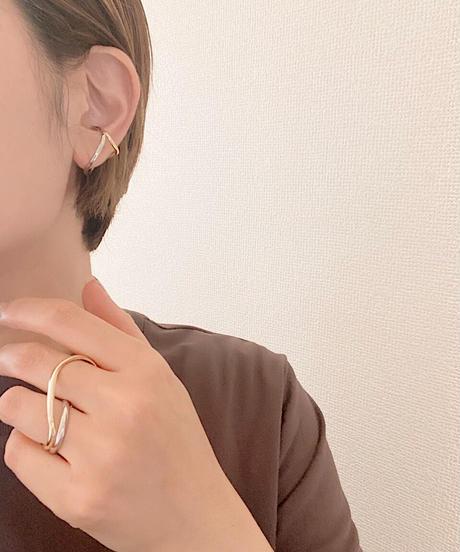 mix line ear cuff H201