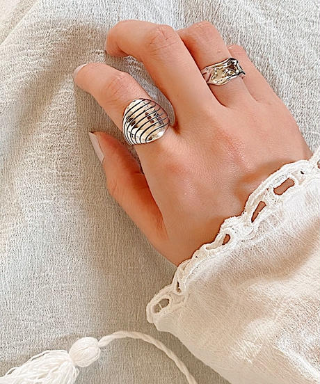 silver ring  A103