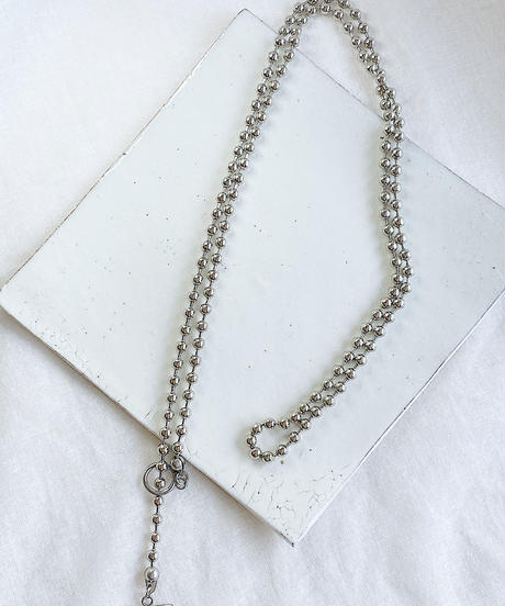 ball chain necklace H101