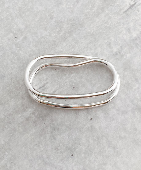 double line ring J201