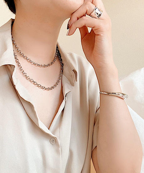 round chain necklace J108-B(long type)