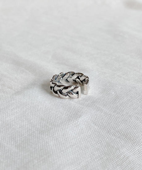 silver ring F116