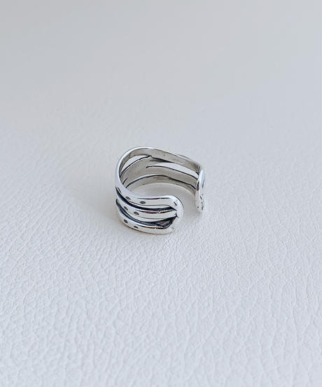 silver ring A101