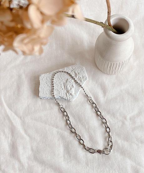 mix chain necklace M119