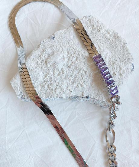snake chain choker H208