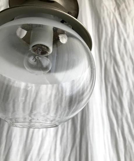 ガス灯のペンダント照明