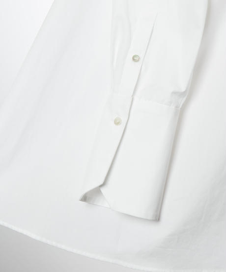 【10月下旬発売】Back Scallop Shirt