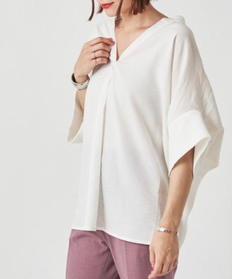 変形ワイドスキッパーシャツ