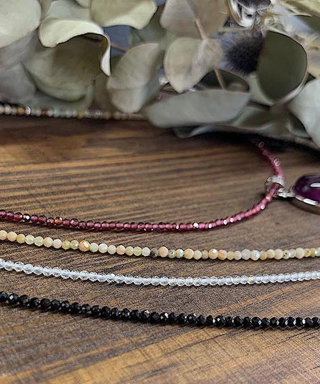 天然石ネックレス 各種
