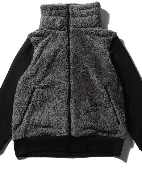 allowed to unfold ベアボアハイネックジャケット