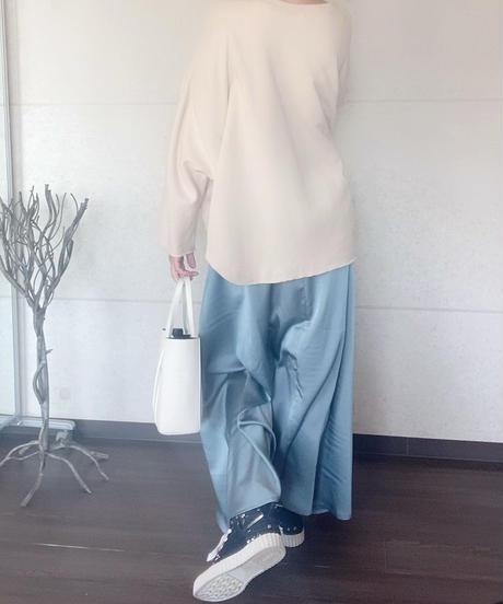 ヴィンテージサテンスカート