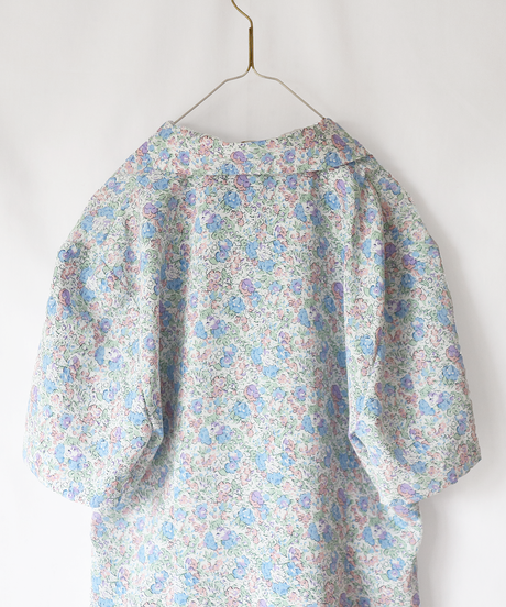 flower & lace collar_bl