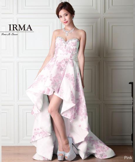 【IRMA】ベア/ハイ&ロー/ジャガードLongDress【91671】