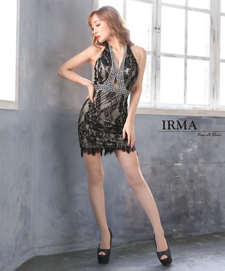 【IRMA】レース/ホルターネック/OP【11887】